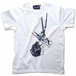 映画「シザーハンズ」モチーフTシャツ ホワイト 画像