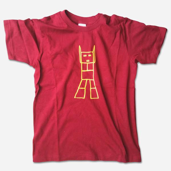 ガンダム記憶スケッチ by pokozka(ポコシュカ)Tシャツ バーガンディ 商品画像