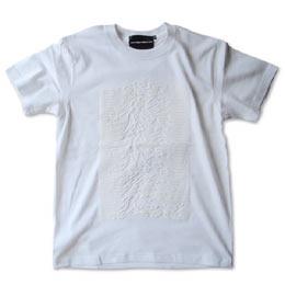 kippoオリジナル「ジョイ・ディヴィジョン」モチーフシャツ ホワイト 画像